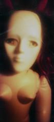 apparition (mugley) Tags: portrait colour tlr film 35mm fuji experiment horns rubber scan negative wig devil epson 135 expired yashica blowupdoll twinlensreflex inflatablewoman c41 seams superia800 yashicamat124 v700 fujicolorsuperiaxtra800 whitemask offcameraflash redscale remotetrigger brollybox blazzeomegtrigslt4 perfectdatedoll yongnuoyn460 wrongsideofemulsion 3stopsoverexposed pcsynctohotshoeadapter nikonsk7bracket