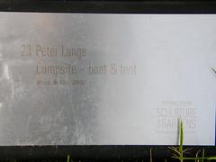 2007-12-23-Stoneleigh-2007-23-01-Campsite (russellstreet) Tags: newzealand sculpture auckland campsite nzl manukau aucklandbotanicalgardens peterlange sculpturesinthegarden2007 stoneleighsculpturesinthegarden2007