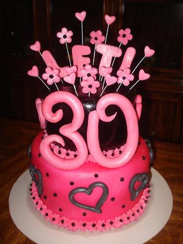 Tremendous 30Th Birthday Cake A Photo On Flickriver Funny Birthday Cards Online Unhofree Goldxyz