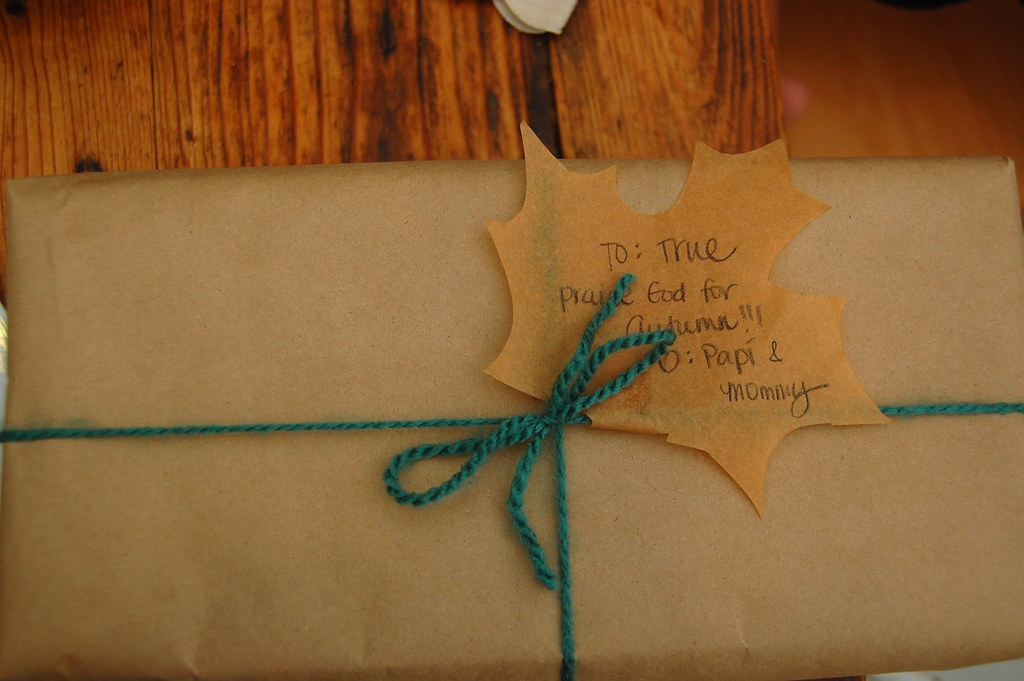 Fall-ebration gift
