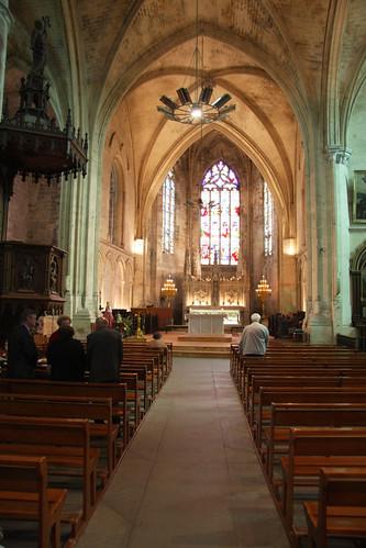 Saint Emilion Church (Mass in Progress)
