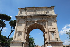 Arco di Tito (kpmst7) Tags: 2018 europe eurasia italy italia lazio latium rome roma ruin gate street southerneurope westerneurope campitelli celio nationalcapital romanruins unesco
