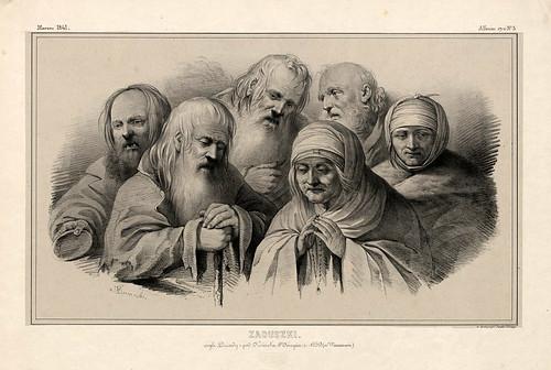 003-Dia de todos los Santos- Varsovia 1841-Album de dibujos de Varsovia- Piwarski