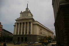 The Largo, Sofia (Alan Hilditch) Tags: party house la europe sofia headquarters communist bulgaria national balkans largo assembly bulgarie republika bulgarije bulgarien oblast serdica   sofiyagrad  blgariya  sredets   largoto