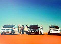 (`Anonymous) Tags: by gold sony 300mm toyota alpha anonymous landcruiser fahad clearsky ksa beautifulday gx gxr vxr emptyquarter 3cars a350 2white almarri cousinsbrothers