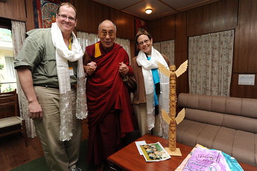 Adele and Dalai Lama