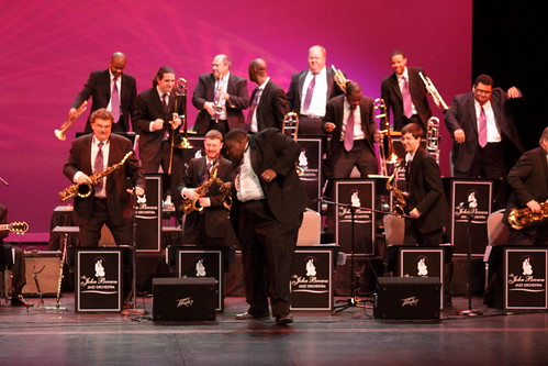 John Brown Jazz Orchestra - dancing for the students