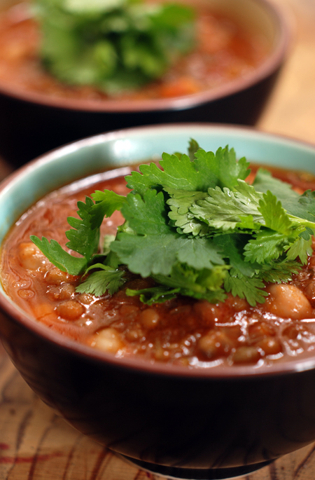 spiced chickpea and lentil soup© by Haalo