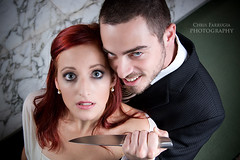 Killer Bride #2 (Chris Farrugia (chrisfarrugia.net)) Tags: groom bride knife evil murder violence domesticviolence justmarried