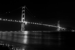 Golden Gate Bridge (. : Jonathan Fiamor : .) Tags: bridge wedding portrait white black night golden gate san francisco photographer jonathan else everything fiamor wwwfiamorcom
