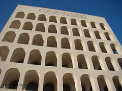 Eur Zone (Rome)-Palazzo della Civiltà Italiana (pouryanazemi) Tags: italy contact atm champions worldicon musictoeyes zafirogroup contestresult