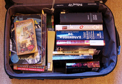 Wake County Library Booksale: Suitcase o'Loot