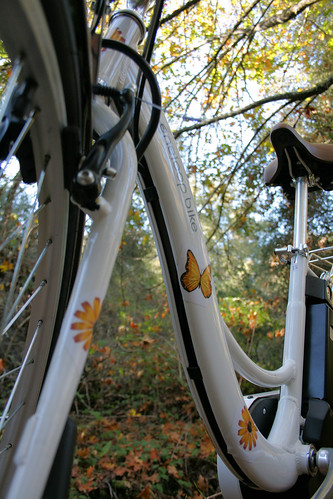 LSanyo Eneloop Bicycle - downtube detail