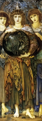 BURNE-Jones, Edward Days of Creation (Third) 1870-1876