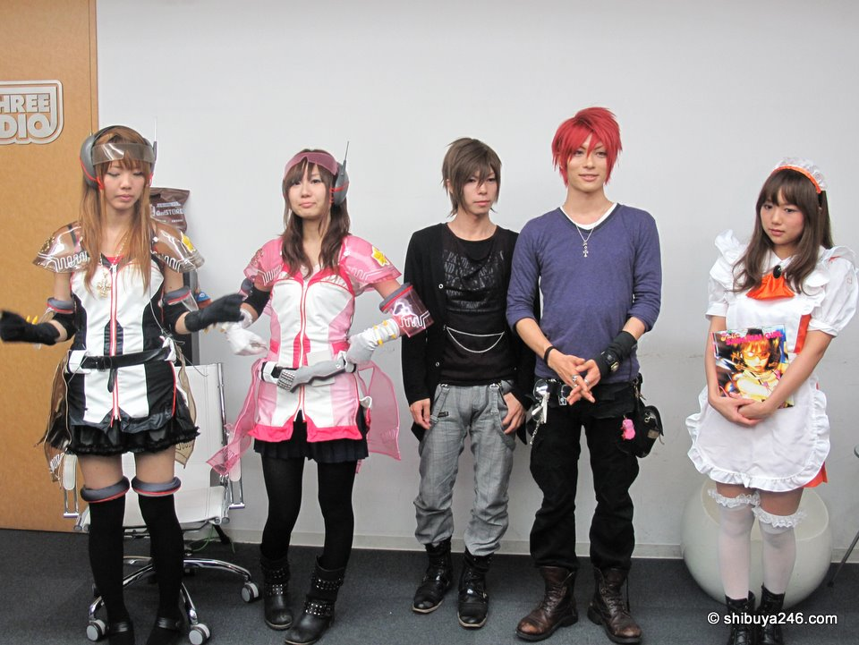 Cospa costumes on display with dannychoo.com line in the mix.