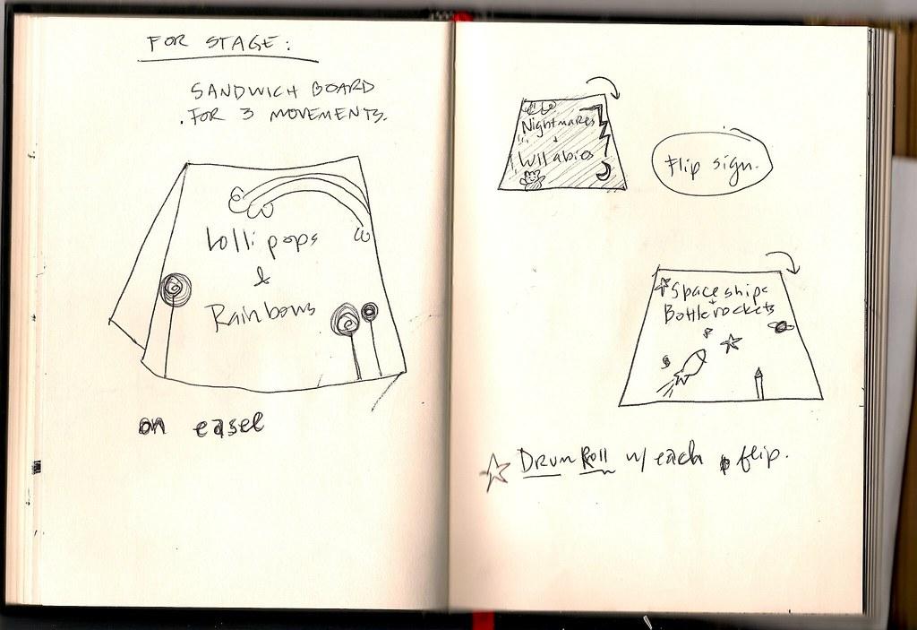 Tour Doodle 2009: Pages 12 & 13