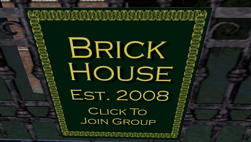 brick house since 2008 in second life