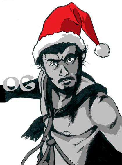 Toshiro Mifune Santa