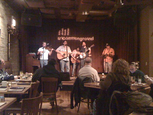 2009-11-29 Dime Store String Band at Uncommon Ground