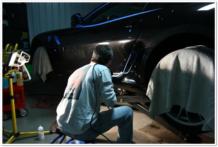Esoteric Auto Detail Ferrari 599 GTB polishing