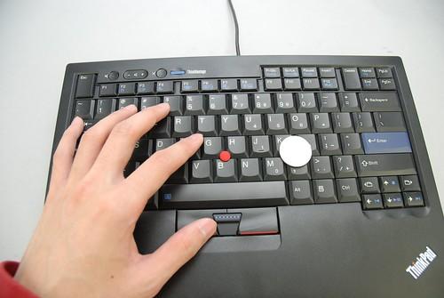 2009 ThinkPad USB小紅點鍵盤 - 24