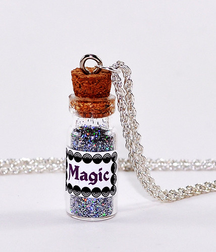 A Little Bit of Magic - Vial Necklace