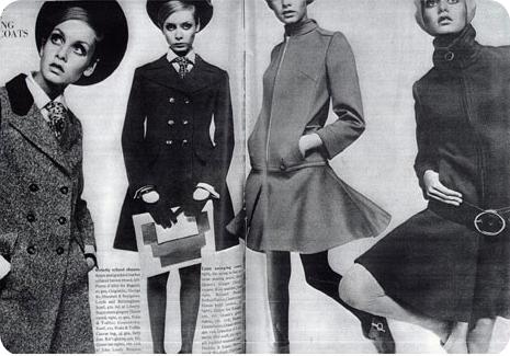 Mod: Twiggy & Pea Coat Styles