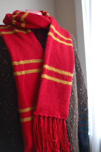 finished HP scarf