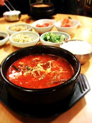 Dinner at Korea Na, Toledo
