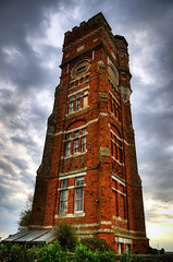 Littlestone Tower (jannimac1) Tags: red brick watertower converted littlestoneonsea