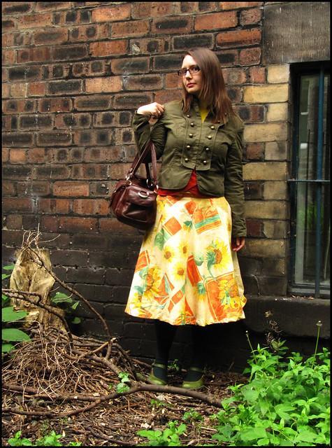I made a skirt!