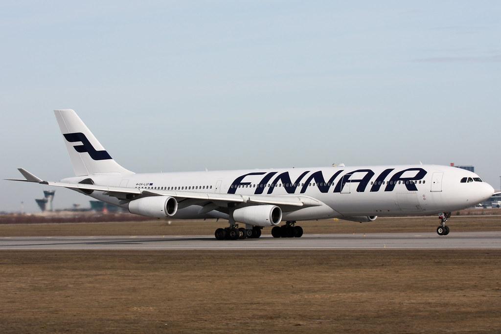 Finnair - OH-LQF - Airbus A340-313X