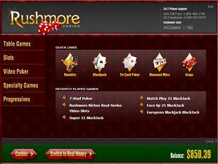 Rushmore Casino Lobby