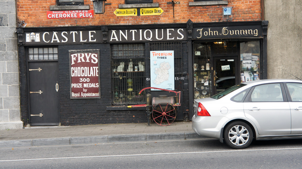Limerick City, Castle Street - Castle Antiques