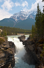 Water from the mountains @ AthabascaFalls .067..055 (HansWobbe) Tags: athabaskafalls frhwo frhwofavs hworank gpse 201105trip