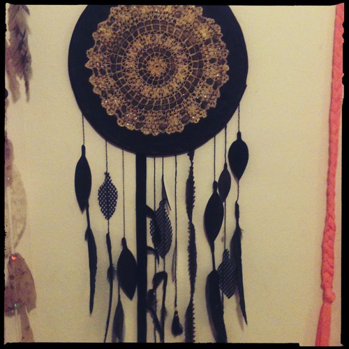 """dark star"" dreamcatcher"