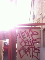 Hope ASE ARTS (TheSmell) Tags: california red hope graffiti blood wine tag arts bomb ase muggin thuggin