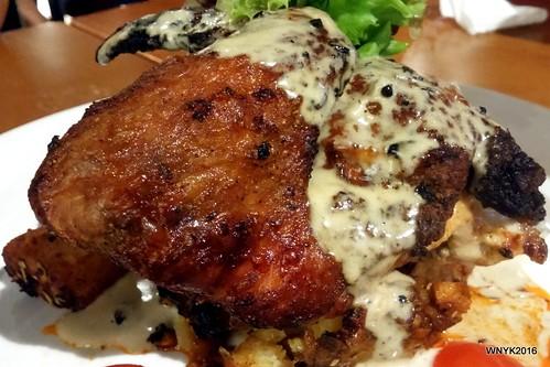 Supreme Stuffed Chicken