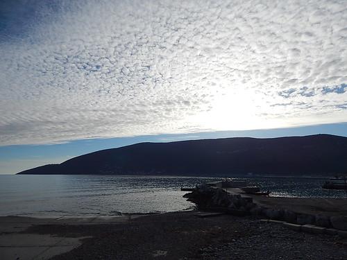 Deep Montenegrian sky