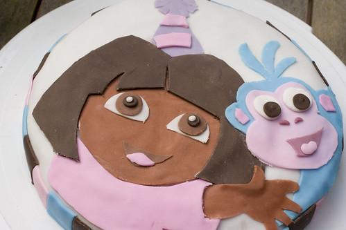 Dora the Explorer Cake 2