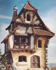 Fantasy Storybook House Model 12e (Color Corrected)