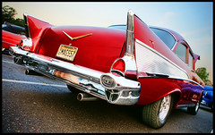 It's all about the fins (Jeff_B.) Tags: auto classic chevrolet belair vintage gm explore chevy american americana coupe fins tailfins generalmotors twoten gmfyi authomobile onefiftey