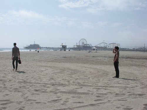 santa monica, muscle beach