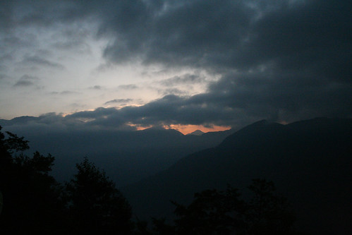 Taiwan 2009 - Sunrise on Alishan Mountain by you.