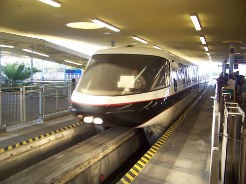 Walt Disney World Monorail - Monorail Black