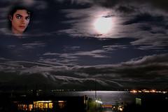 Thriller - Michael Jackson - Tribute - One Of The Greatest Artist. Night Clouds on Esja Iceland (Sig Holm) Tags: island michael iceland islandia jackson michaeljackson 2009 sland islande icelandic islanda seltjarnarnes ijsland islanti  mywinners    slenskt platinumheartaward