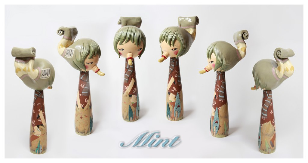 Kokeshi: MiNT by Jeni Yang @ JANM July 11- October 4, 2009