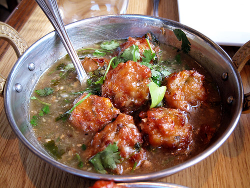 veg ball manchurian @ chinese mirch