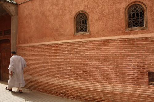 Caminando por la medina de Marrakesh