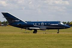 G-FRAF - Cobham - Dassault Falcon 20DC Mystere - 090704 - Waddington - Steven Gray - IMG_8711
